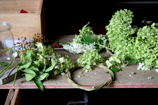 G&S Hydrangea Wreath Under Construction.jpg