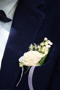 G&S Wedding Lapel