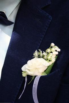 G&S Wedding Lapel